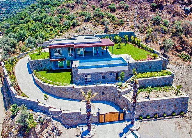 Yalıkavak Satılık Müstakil Ev Bodrum Gökçebel Villa Satılık