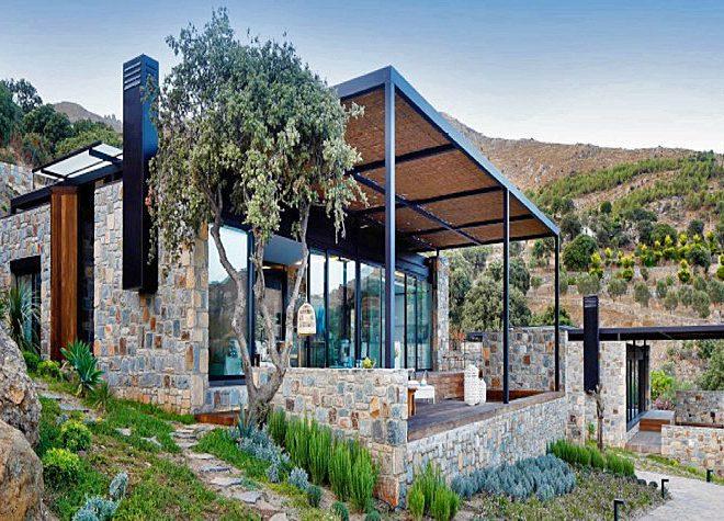 Gümüş Su Villaları Gümüşlük Satılık Taş Ev