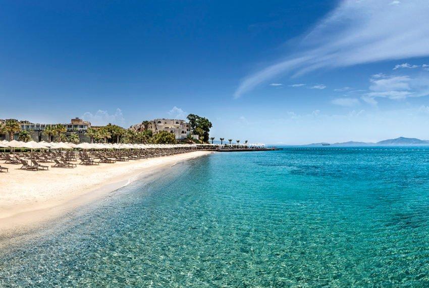 resort - rezidans - aylık kiralık - Turgutreis