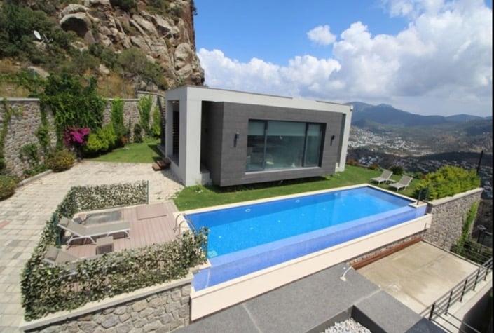 Tepe Villaları Yalıkavak Satılık Müstakil Ev